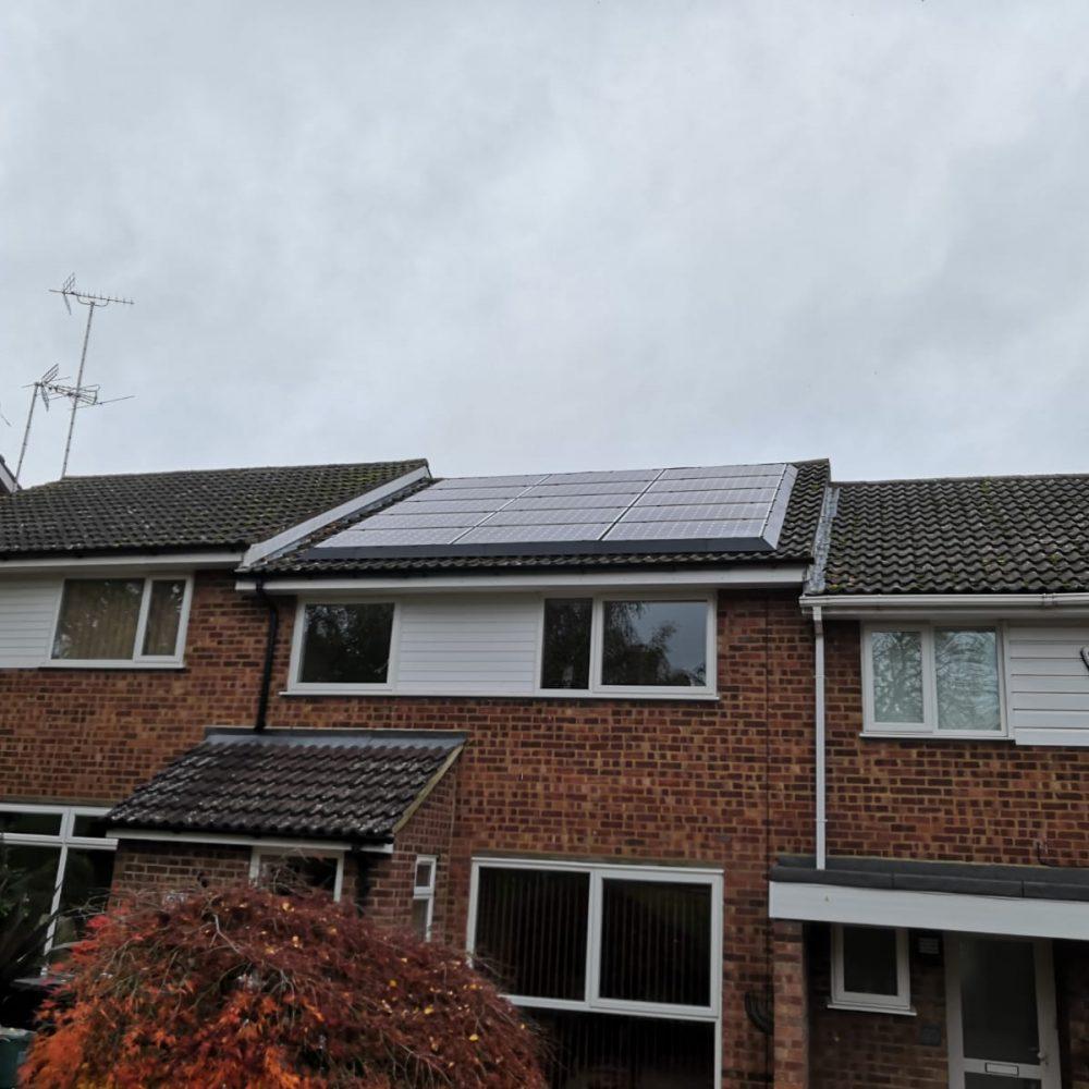 Solar Panel Pigeon Proofing 2